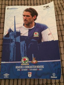 Blackburn Rovers Programme